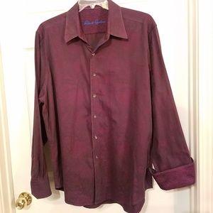 Robert Graham Button Up Shirt Mens XL